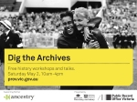 Dig the Archives banner V1.0 AJ 20150320